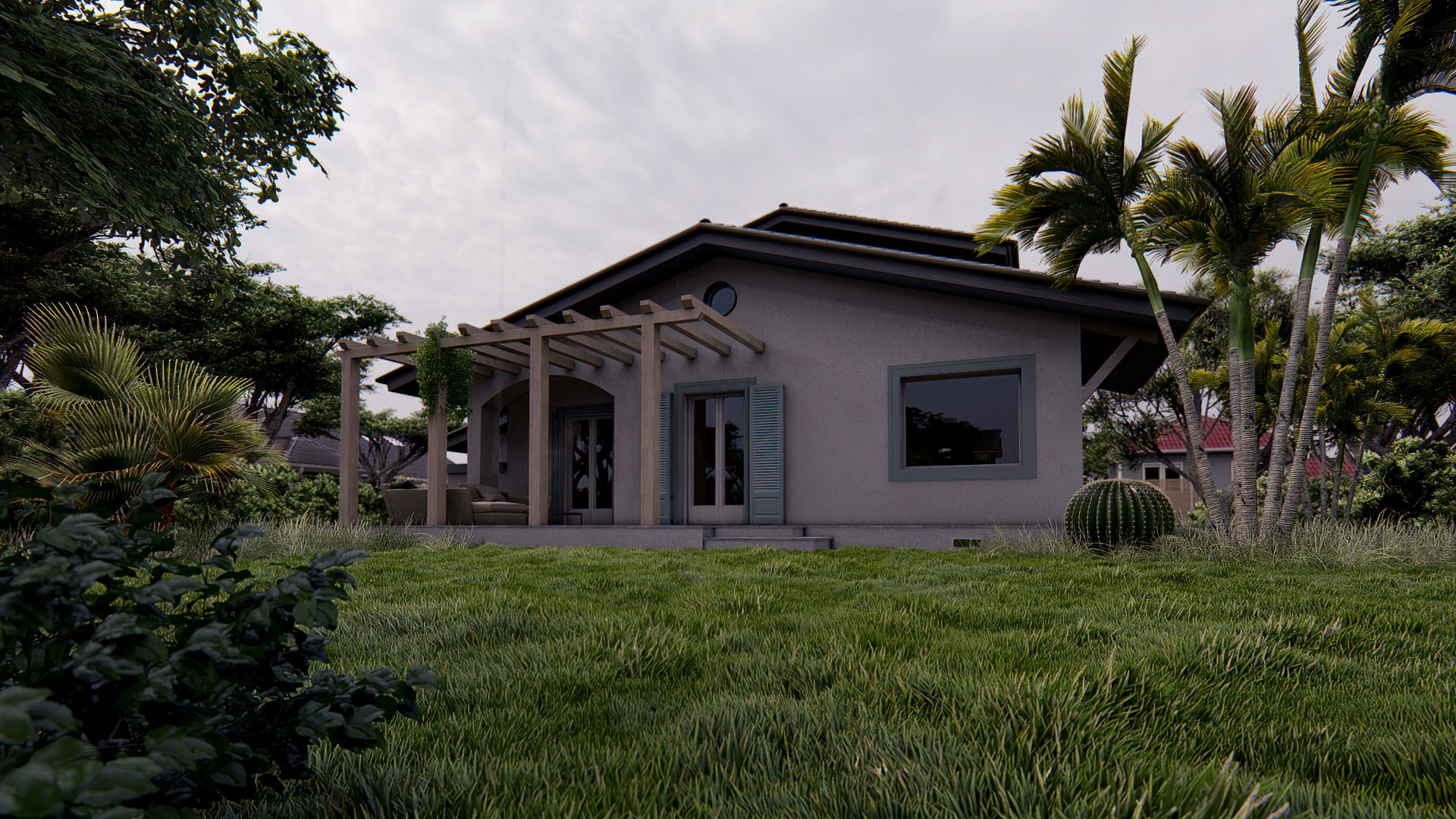 Render 3D Villa Singola - Dopo
