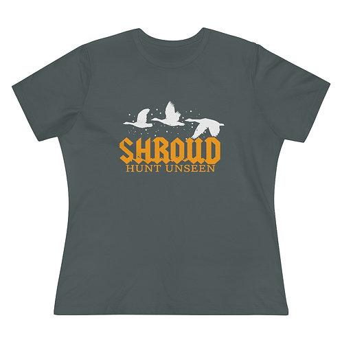Shroud Camo Women's goose T-Shirt