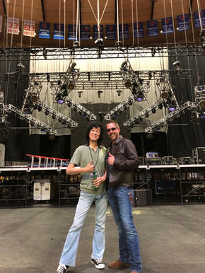 With Alex (JBLZE) at MSG