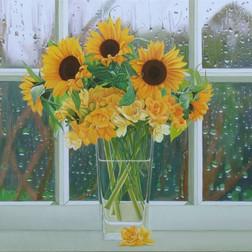 Sunflowers & Freesias