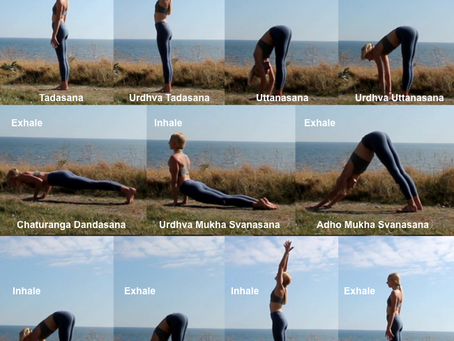 Back to basics: Surya Namaskar A