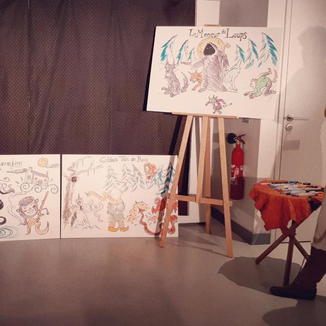 contes illustrés - spectacle jeune public - Cie Ôokaï_593124014660622