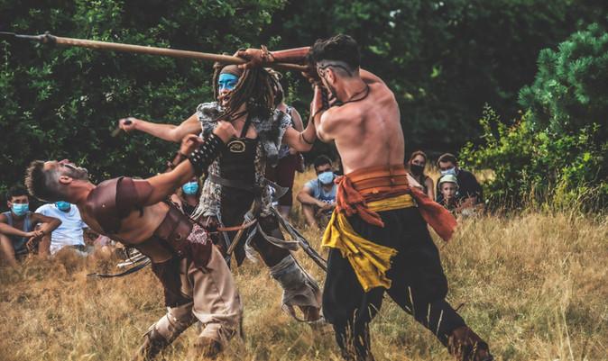 VANDALES! spectacle médiéval - spectacle viking - compagnie Ôokaï