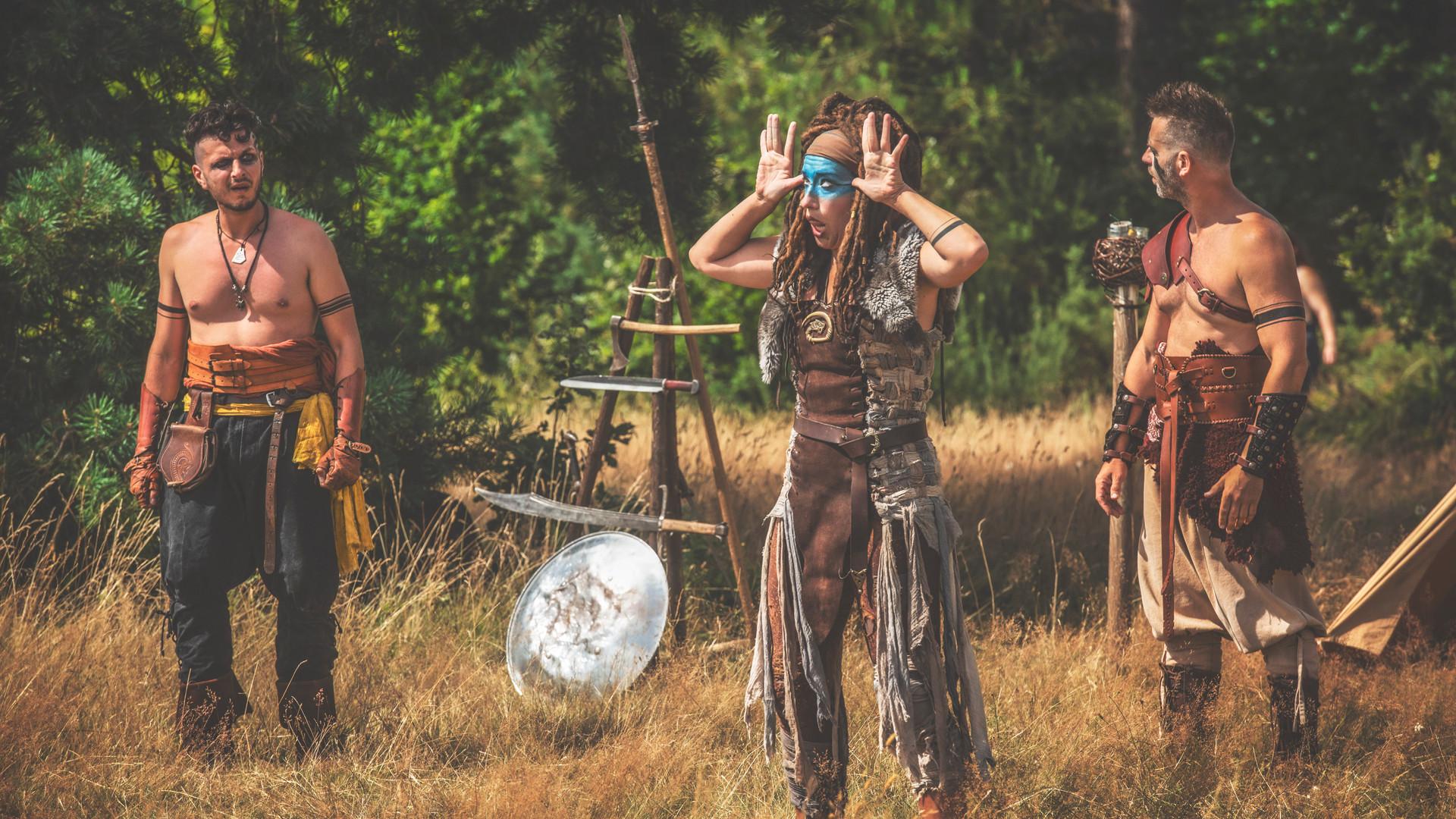 VANDALES! spectacle médiéval - spectacle viking