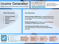 Income Generation Brochure