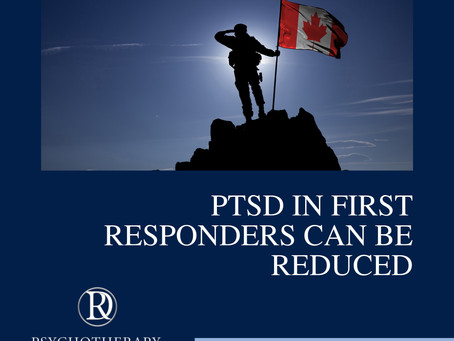 PTSD in First Responders Can Be Reduced