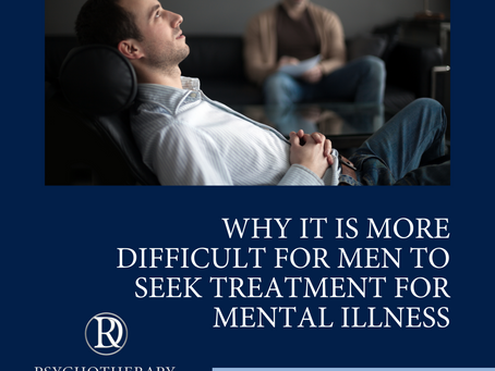 Why It Is More Difficult For Men to Seek Mental Health Treatment