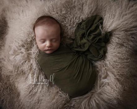fluffy fur & jersey wrap