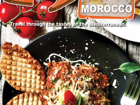 Travel through the tastes of the Mediterranean - Morocco 用味蕾環遊地中海 - 摩洛哥羊肉醬義大利麵