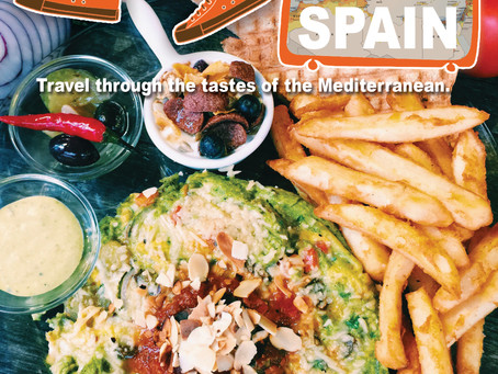 Travel through the tastes of the Mediterranean - SPAIN 用味蕾環遊地中海 - 西班牙馬鈴薯烘蛋