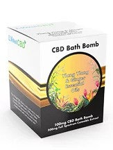CBD Bath Bomb  Ylang Ylang and Ginger