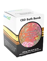 CBD Bath Bomb  Frankincense and Rose