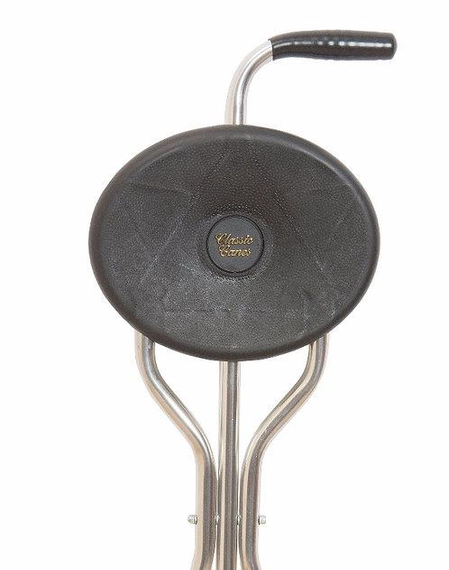 Classic Canes - TRIO MAXI TRIPOD SEAT,  BLACK