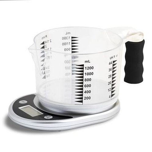 Talking Kitchen Scale with Easy to See Jug