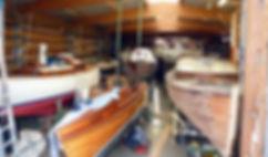 die Bootswerft Grödersby im Überblick