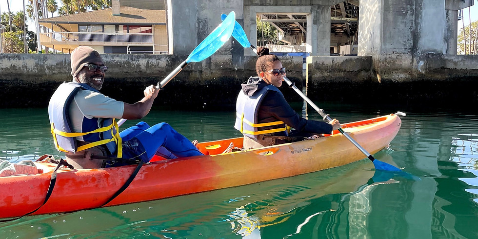 End of Summer Kayaking with Black Long Beach