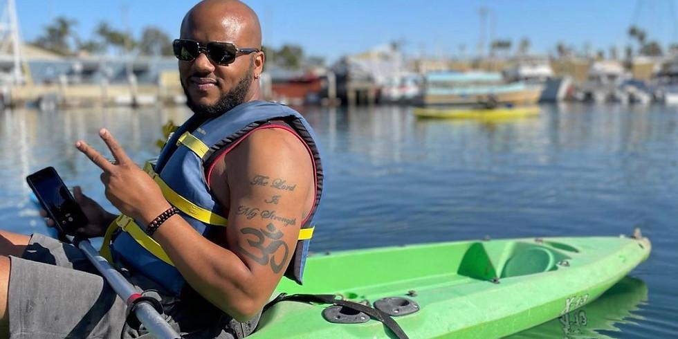 Summer Kayaking with Black Long Beach