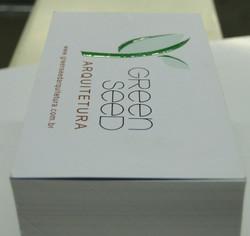 Cartões de Visitas (Green Seed)