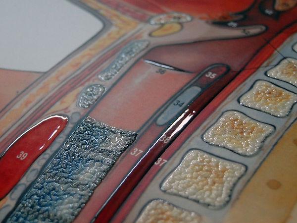 Efeito Textura e Alto Relevo