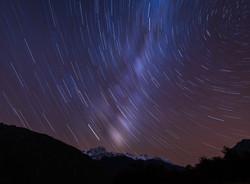 Star Trails & Milky Way (Single Shot