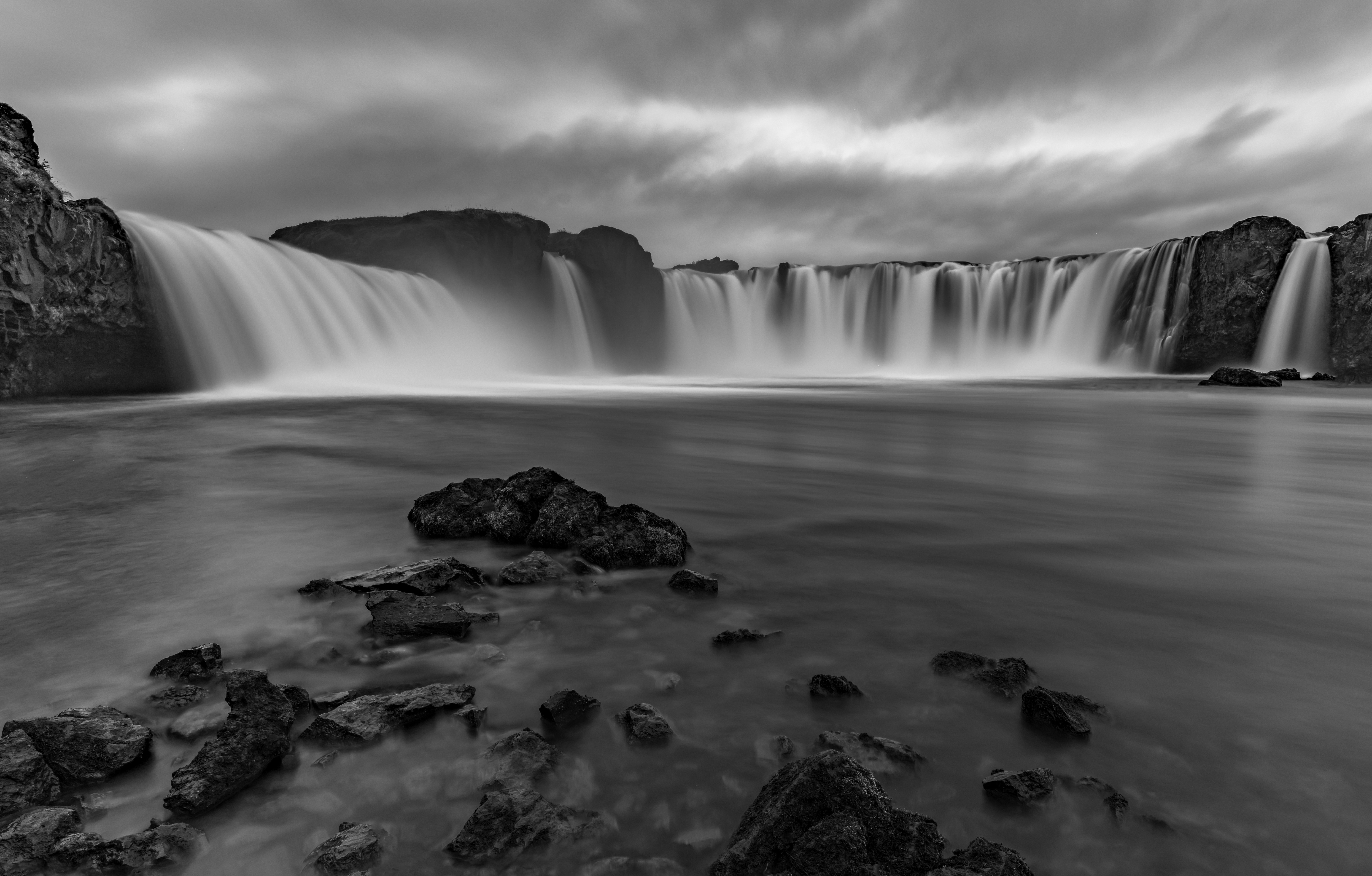 Goðafoss from Low
