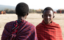 Facing Maasai
