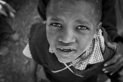 An African School Child