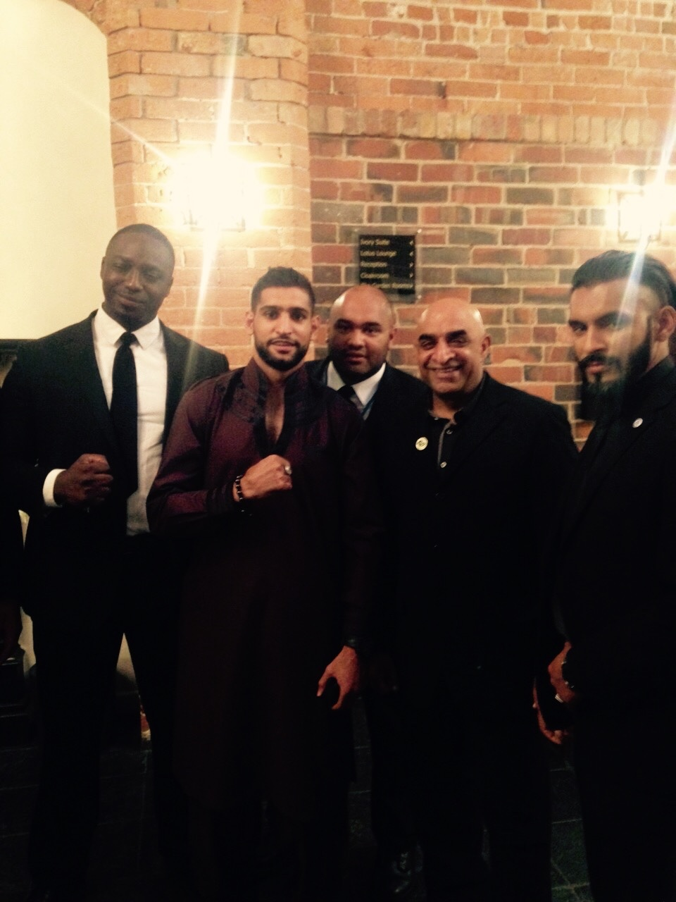 Celebrity close protection