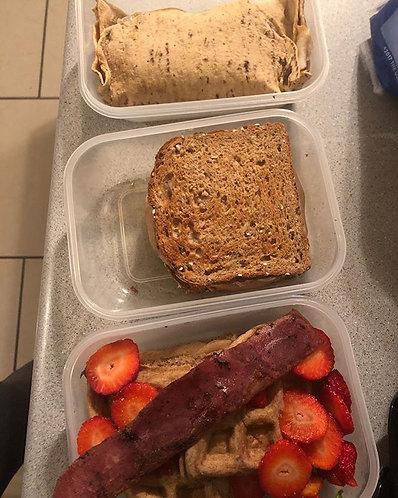 4 weeks meal plan (individualized)