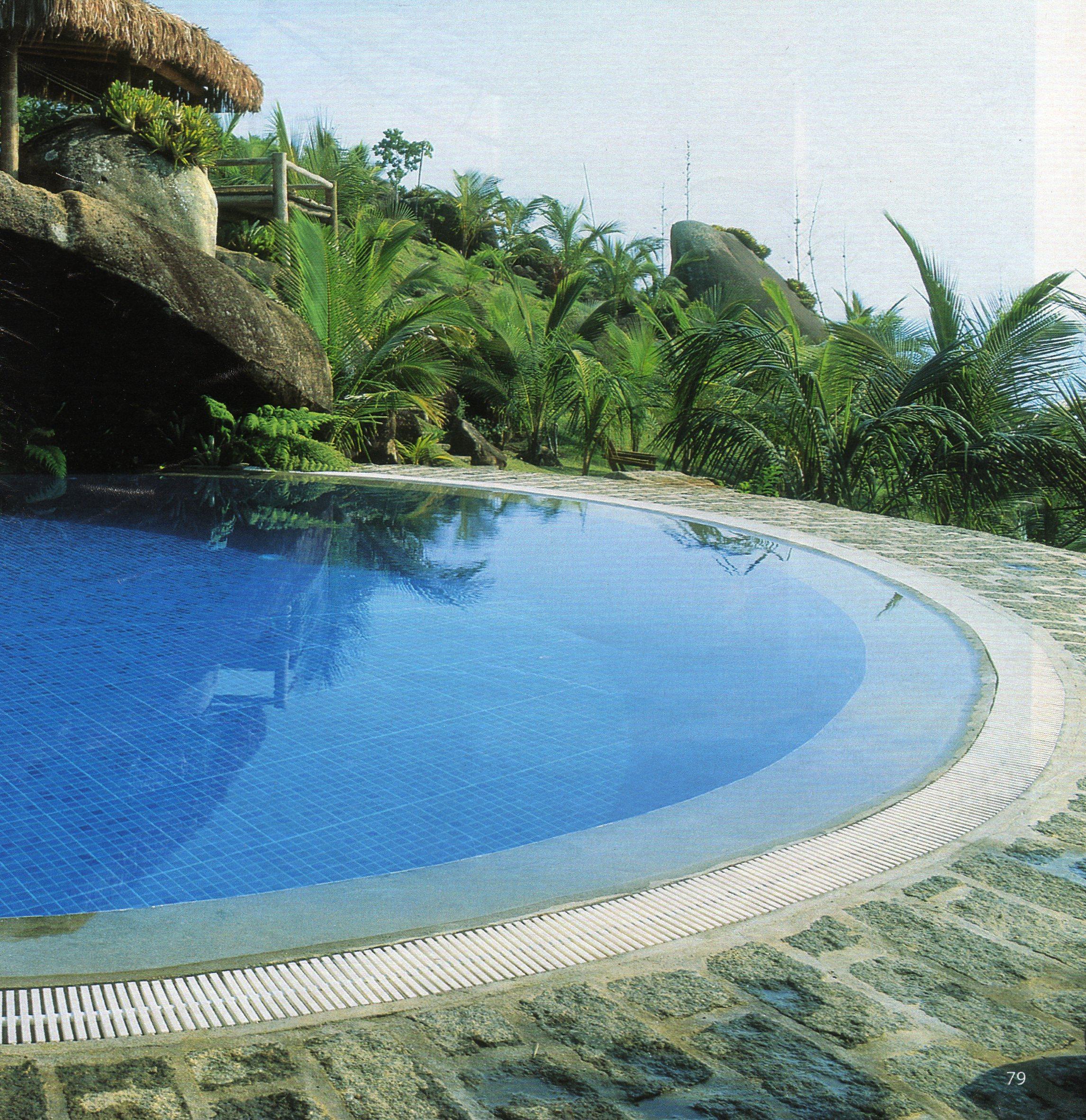 piscina pedra santa isabel