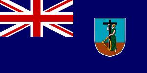 Flag of Montserrat Island