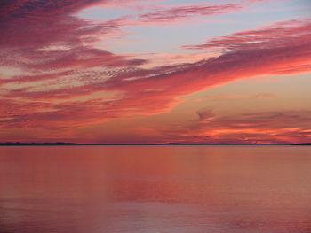 Campobello Island sunset bay of fundy heurlin