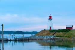 Mulholland Point Light Campobello NB