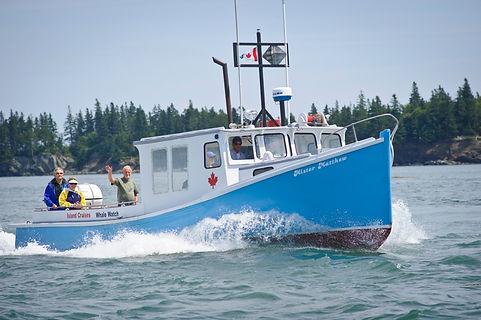 Mister Matthew Boat Island Cruises CampobelloIsland