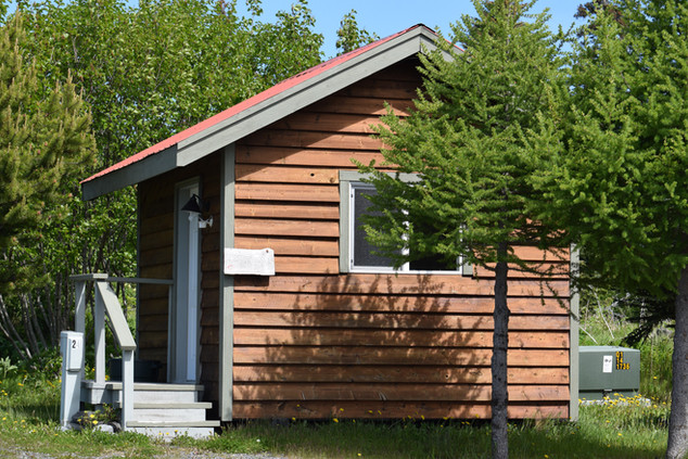 Restrooms at Whiskey Point Cabins & RV P