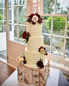 Buttercream Beauty dressed with gorgeous