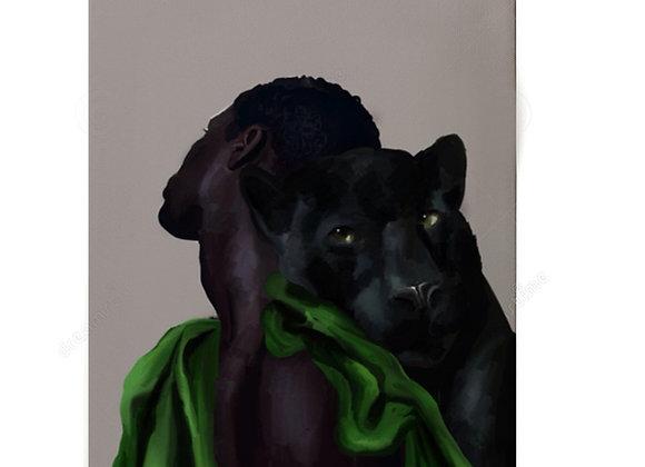 """Beloved Panther Child"" original"