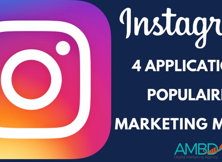 Téléchargez ces 4 applications Instagram populaires pour le marketing mobile