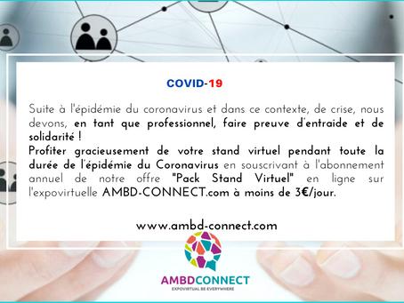 Crise Covid 19_Comment poursuivre votre activité ? Solution numérique pendant la crise AMBD CONNECT