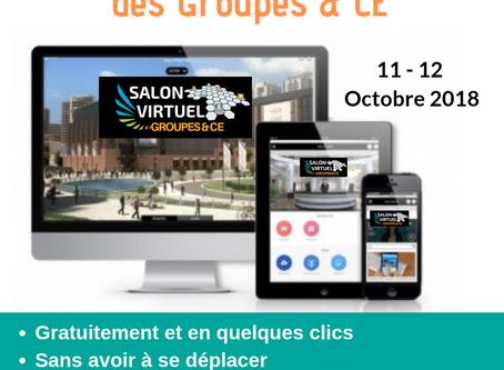inscription gratuite au salon virtuel des Groupes et CE