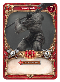AracKhan Wars Core Box Fr Red Creature P