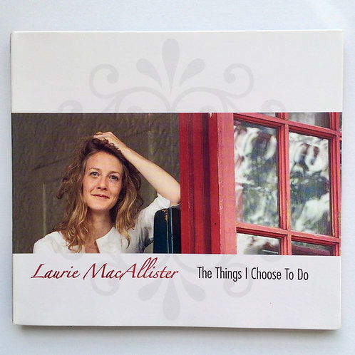 PHYSICAL CD: The Things I Choose to Do