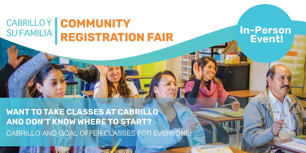 Community Registration Fair - August 10-2021