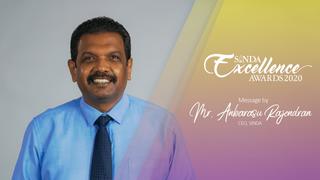 Mr Anbarasu Rajendran