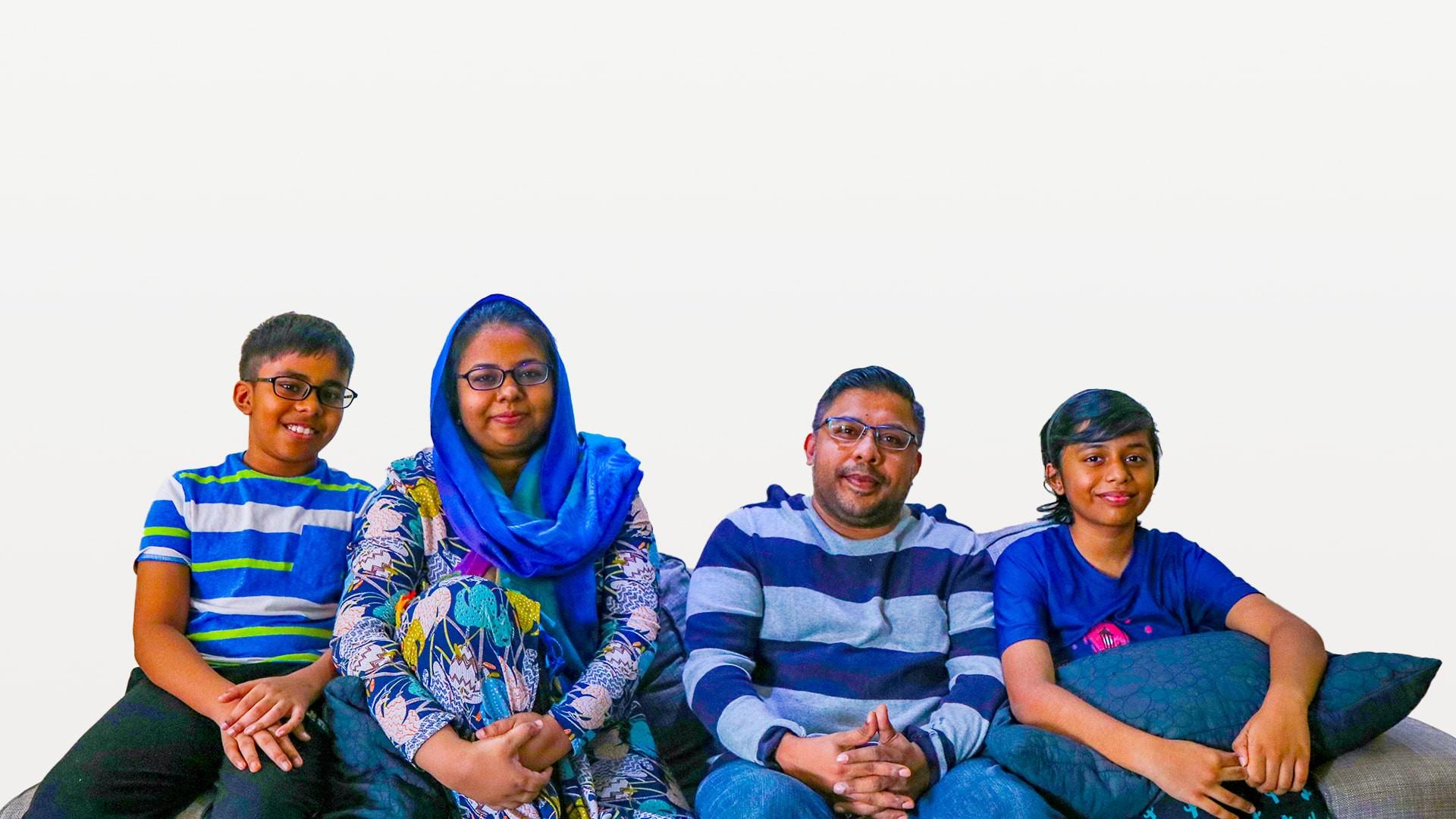 Rameeza Family