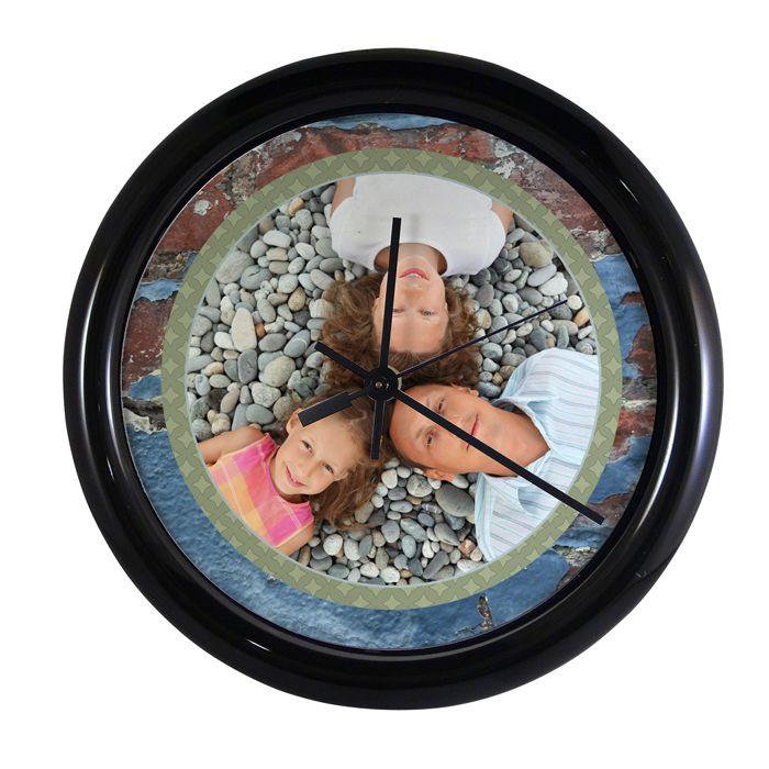 round_hardboard_wall-clock