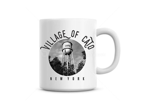 Village of Cato Water Tower Mug