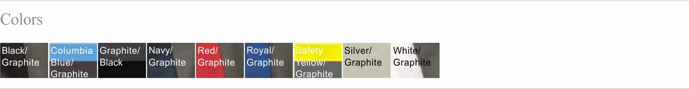 4040 Color Chart