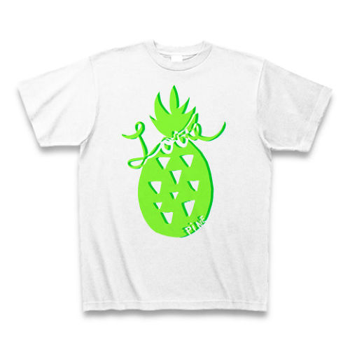 Pineapple printed T 2016