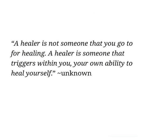 Self-Healing Journey